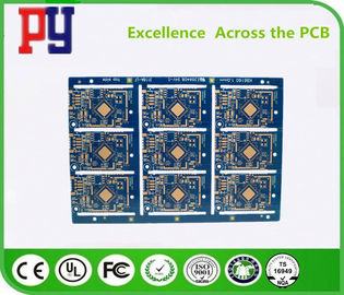 China Double-sided OSP impedance half hole 1.0mm 2Layers  FR-4  One Stop Turnkey Service PCB supplier