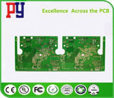 China On-board digital television Double-sided tinned PCB circuit board  Application industry   1.0mm company