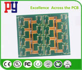 Multi - Layers Rigid Flex PCB Polyimide 1-3 Oz Fr4 Base Material RoHs Approval