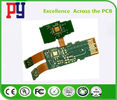 Green Solder Mask Rigid Flex Circuit Boards , Pcb Printed Circuit Board Lead Free