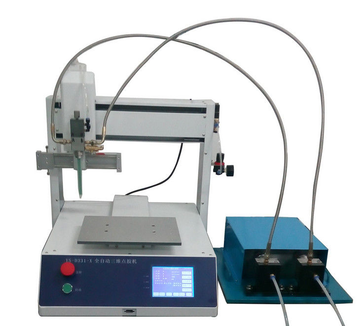 AB Dispenser / Epoxy Dispensing Machine , Automatic Glue Dispensing Machine