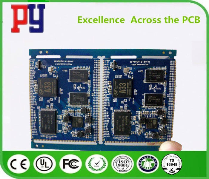PCBA 2 0 Printed Circuit Board , Printed Board Assembly Inductive