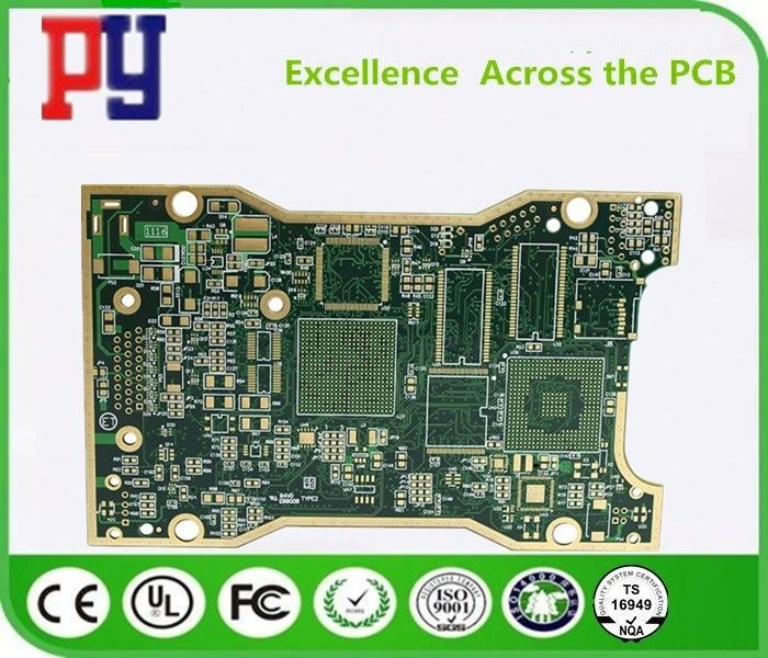 KB TG150 Multilayer FR4 PCB Board , FR4 Printed Circuit Board LF
