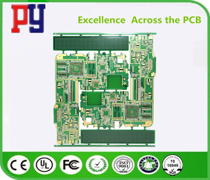 4-layer 0 8mm4-layer high-density gold-plated PCB circuit