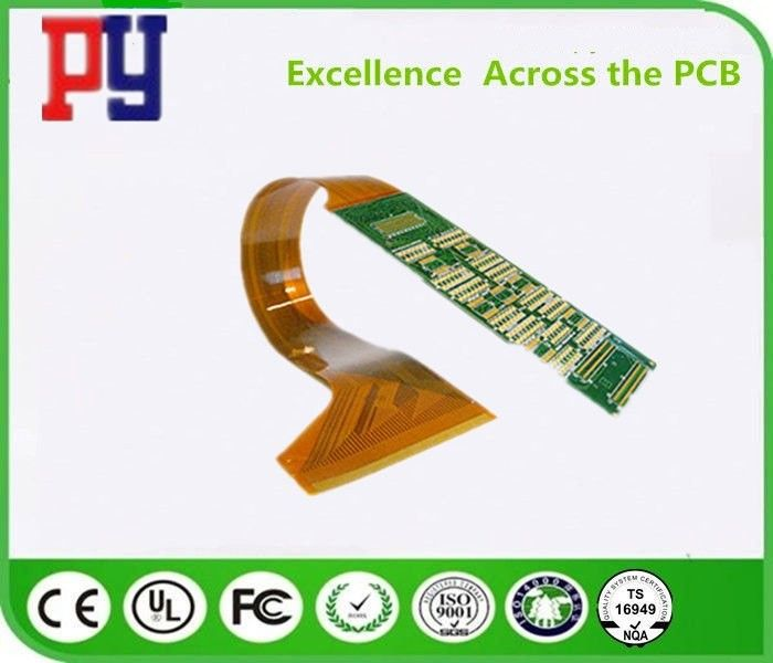 ENIG FPC Pcb Printed Circuit Board Soft / Hard Combination 0.4-3.0mm 2 Layer 1OZ For Medical