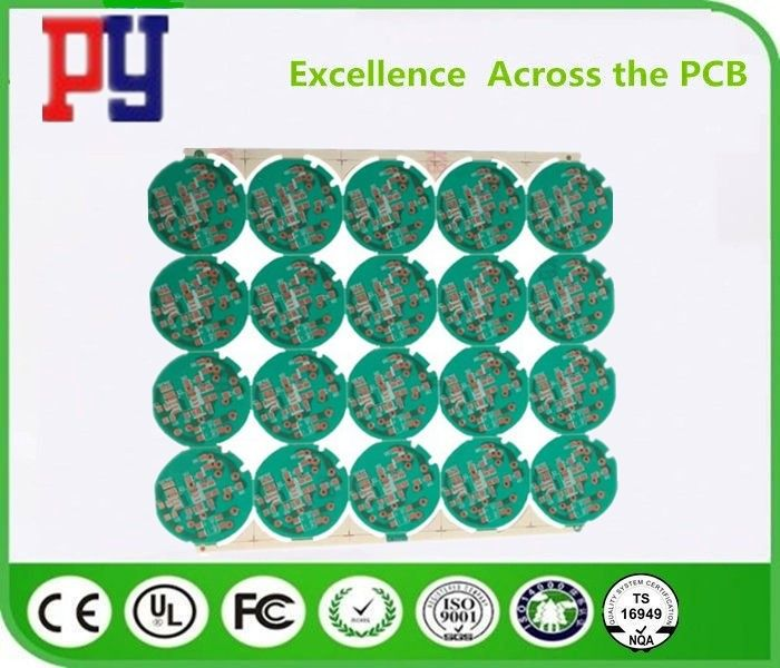 1 Layer Semi Glass Fiber Single Sided PCB Board 1.2mm SThickness Urface Finish Osp