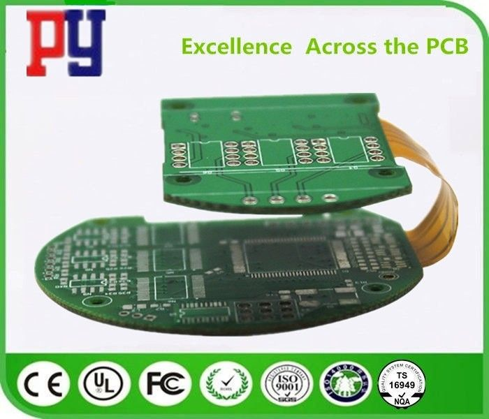 Multilayer Impedance Controlled Rigid Flex Circuit Boards PCB 1.6mm Immersion Gold