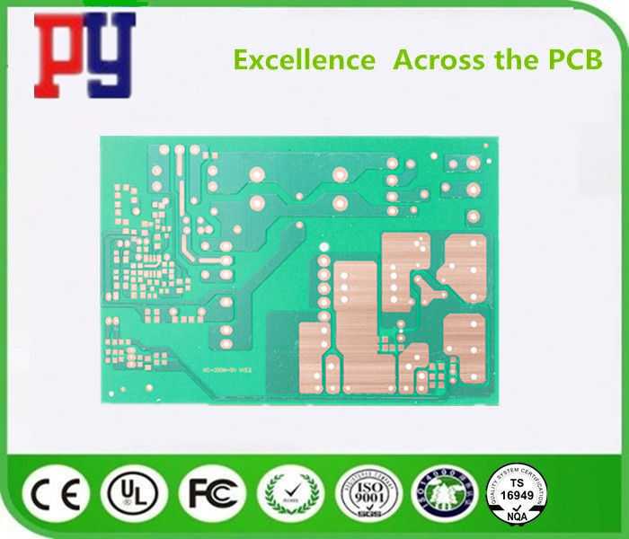 1.2mm Thickness Single Sided PCB Board 1OZ Copper Gerber / PCB File Needed