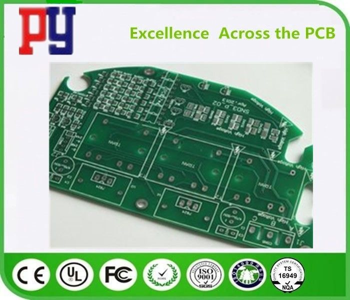 Fr4 Material Single Sided Copper Clad Circuit Board With Lead Free Hasl Finish