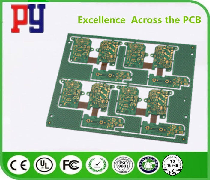 4L Flex Circuit Prototype , Rigid Flexible Pcb HASL Lead Free Surface Finishing