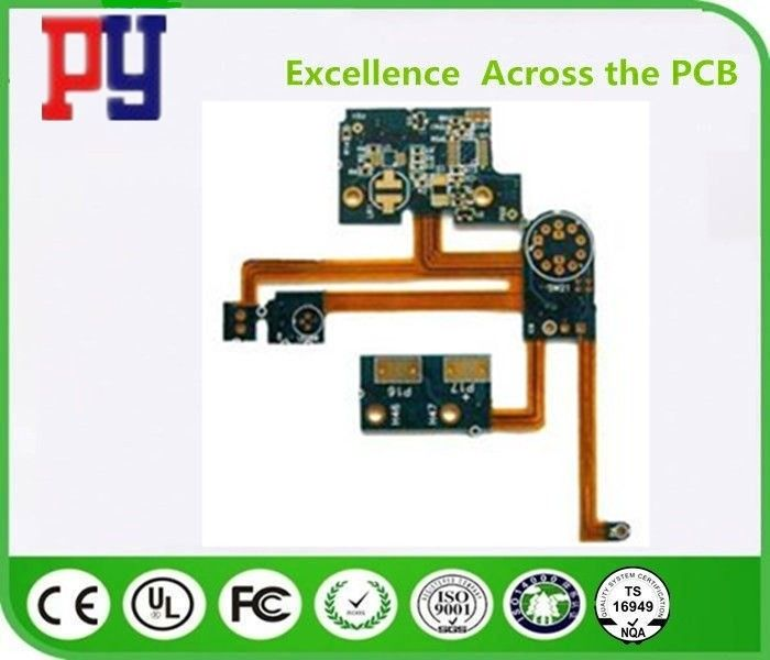 4 Layer Rigid Printed Circuit Boards Polyimide Fr4 Lead Free Surface Finishing