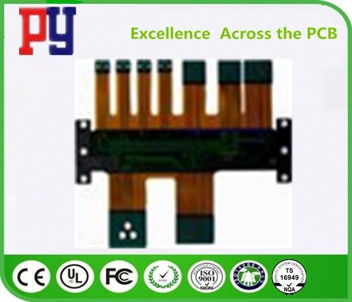 Polyimide Rigid Flex PCB Printing Circuit Board Fr4 Base Material With Osp