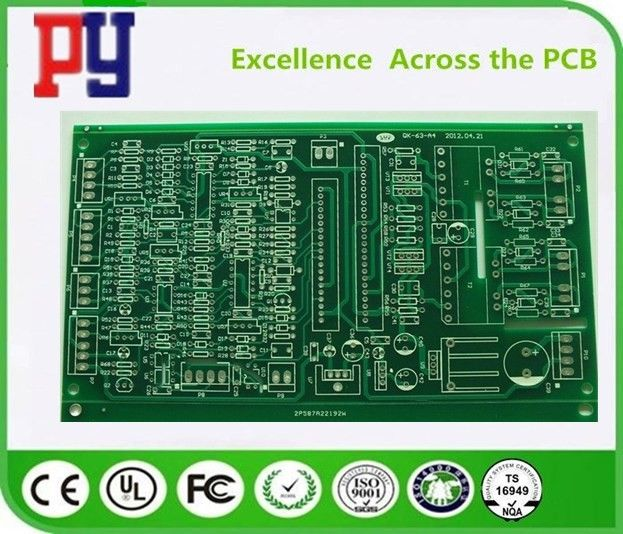 Rigid Fr4 Printed Circuit Board 1.6mm Thickness Double Side 4mil Hole Size