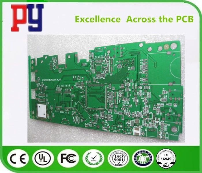 Oem FR4 PCB Board 2 Layer Fr4 Base Material With Immersion Gold Finishing