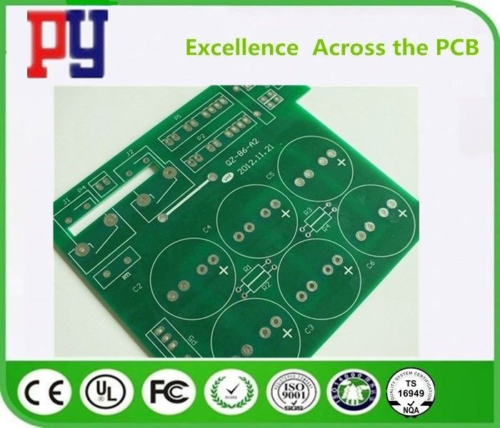 Lead Free FR4 PCB Board 2 Layer Rigid Fr4 Base Material 1-4oz Copper Thickness