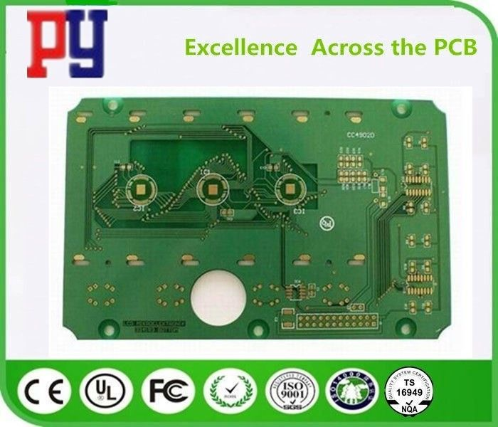 Double Side FR4 PCB Board Green Solder Mask 1-4oz Copper Thickness With Osp