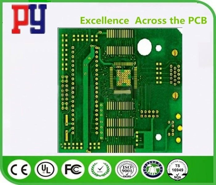 2 Layer Rigid PCB Circuit Board 1.6mm Thickness Fr4 Base Material Tg150 1oz