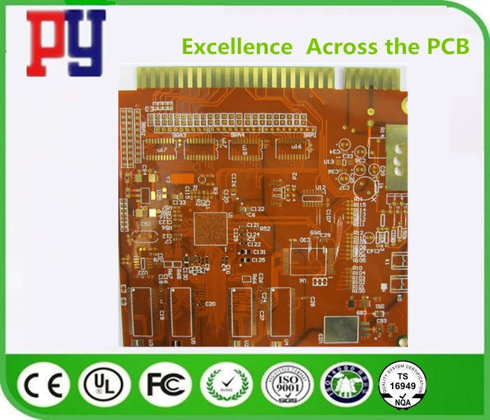 Multilayer Printed Circuit Board Prototype Immersion Gold Finger Fr4 Base Material