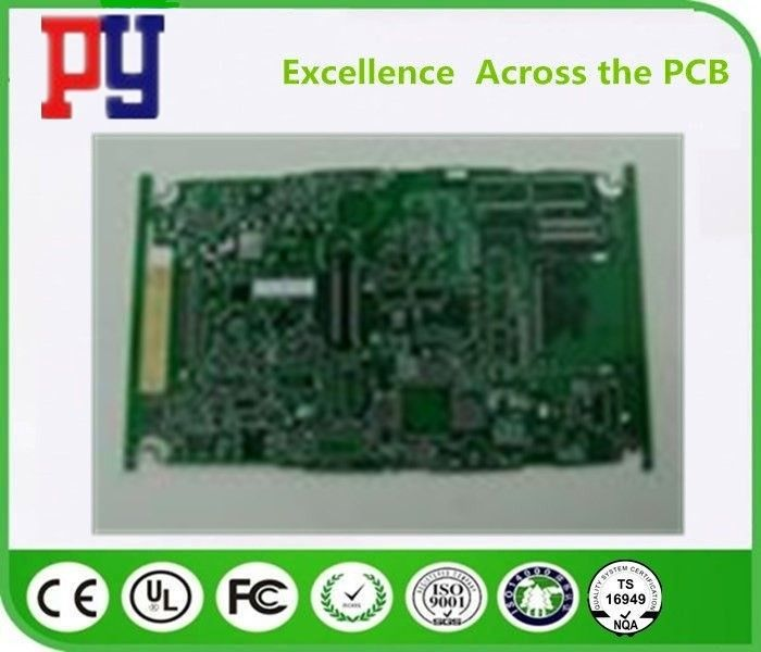 1OZ Copper Thickness Printed Circuit Board Prototype 10 Layer Green Solder Mask Color