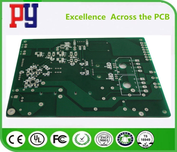 Green Solder Mask Rigid Flex PCB Fr4 Rogers Circuit Board 6 Layers UL ROHS Approval