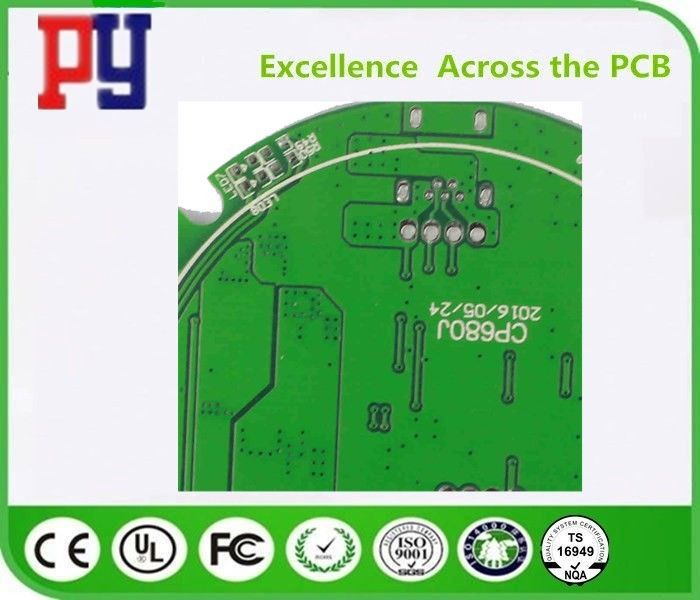 Durable Pcb Printed Circuit Board , FR-4 Double Sided Pcb Fabrication 2 Layer