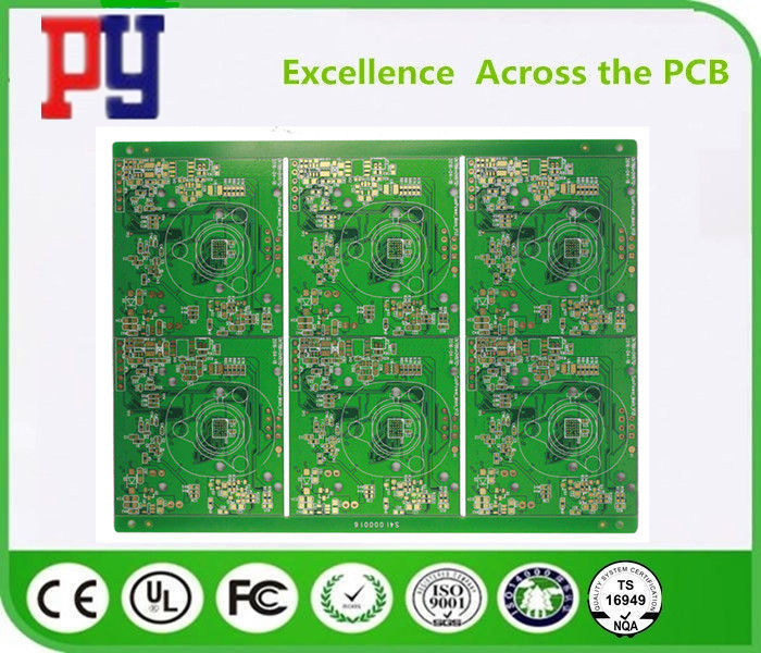 Double Sided Printed Circuit Board Assembly Fr4 Lead Free Surface Finishing