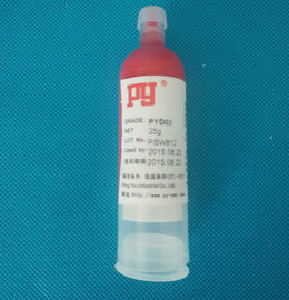 Red Plastic SMT Solder Paste UV Curing Plastic Bonding Adhesives For Posts 30CC