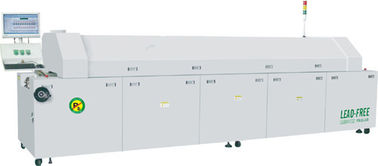 China No Vibration / Noise 10 Zones Lead Free Reflow Oven With PID Controls factory