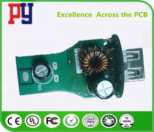 Car Charger PCBA Board 6 Layer FR4 Raw Material 0.8-1.2mm Board Thickness