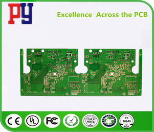 On-board digital television Double-sided tinned PCB circuit board  Application industry   1.0mm