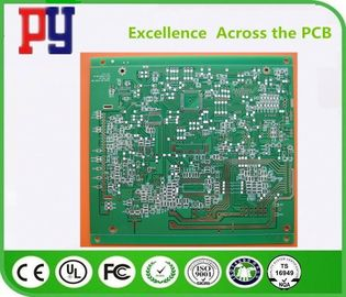 China Double Side FR4 PCB Board 4 Mil Hole Size With Lead Free Surface Finishing factory