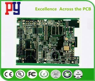 China 1OZ Copper Fr4 Multilayer PCB Circuit Board , High Density Circuit Boards 10% Impedance factory