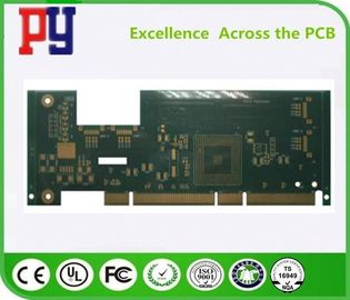 China High Precision Custom Printed Circuit Board Fr4 1OZ Multilayer Gold Finger factory