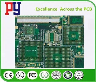 China FR-4 Material PCB Printed Circuit Board 0.25mm-0.60mm Plugging Vias Capability factory
