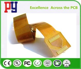 2 Layers Flexible Electronic Printed Circuit Board 1OZ Double Side PCB Polyimide