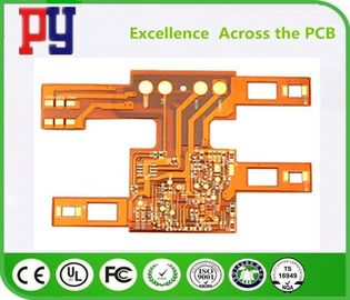 China Single Layers PCB Printed Circuit Board Flexible 1OZ Double Side Polyimide Base Material factory