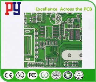 4 Layer Double Sided PCB Board Fr4 Base Material 25um 1mil Hole Copper Thickness