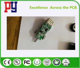China 1OZ Copper Thickness SMT PCB Board Fr-4 Pcba With Two Port 2.4 Amp Fast Charging factory