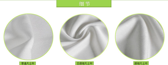 White Stencil Cleaning Rolls , SMT Stencil Paper Roll For Machine Clean