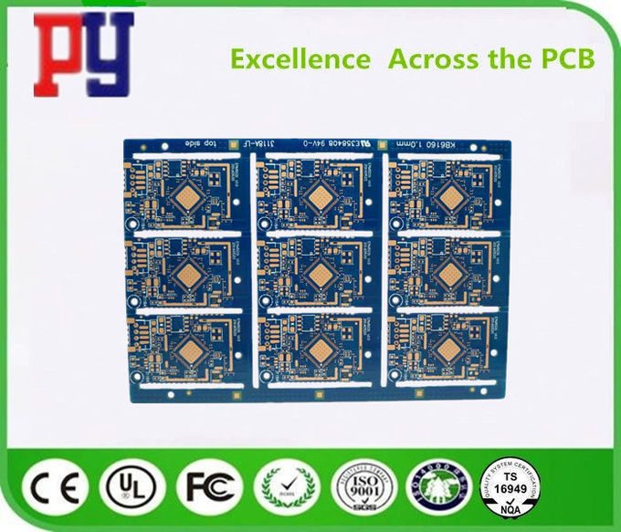 Double-sided OSP impedance half hole 1.0mm 2Layers  FR-4  One Stop Turnkey Service PCB